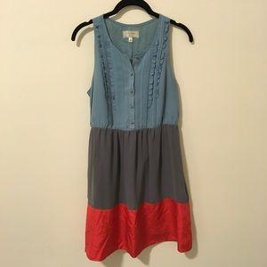 Anthropologie Dresses & Skirts - Anthropologie Color Block Sleeveless Dress