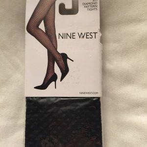 Nine West Diamond pattern tights🌹
