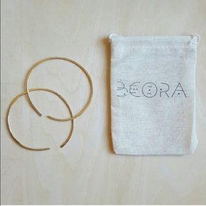 Beora Jewelry Jewelry - 🎀Brass hoop earrings🎀