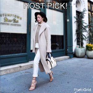 ASOS Jackets & Blazers - ❤️HOST PICK!❤️ ASOS Nude Pink Oversized Coat