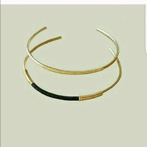 Beora Jewelry Jewelry - 🎀Brass cuff pair🎀