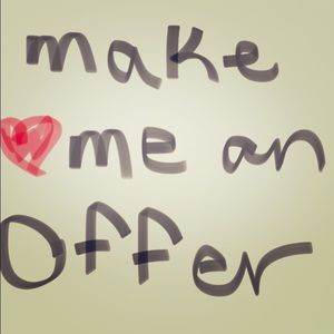 Other - 💋❤️️Make me an offer I can't refuse!!!💋❤️️
