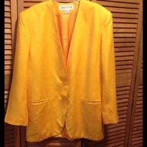 Jack and Jones Jackets & Blazers - Jones New York a Yellow Blazer