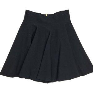 Kaitlyn Black Stretch Skater Skirt