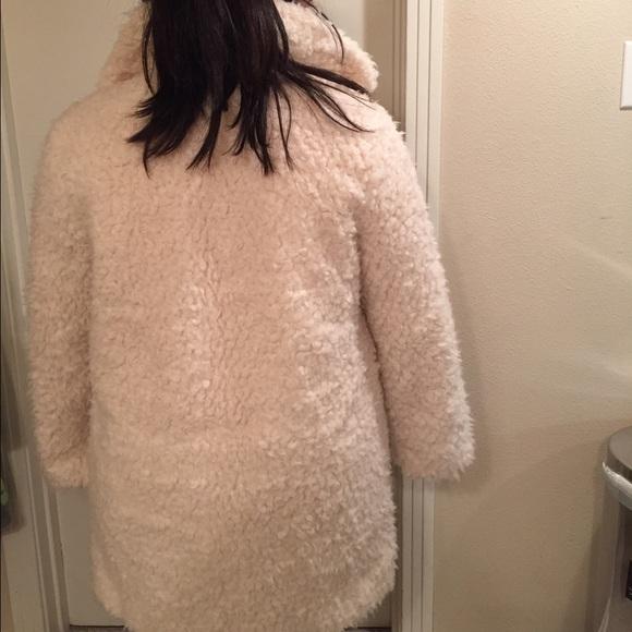 Topshop Jackets & Coats - Topshop Teddy Fur Coat