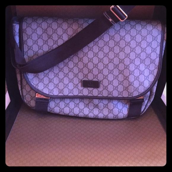 2ce3eb37ddb4 Gucci Bags | Laptopmessenger Bag | Poshmark