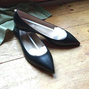 Size 40 Black Valentino flats