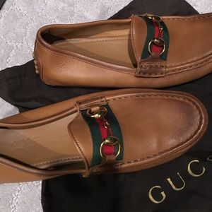 f141cab4cc61 Gucci Shoes - Gucci Women s Damo Driving Loafer size 36.5