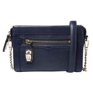 Rebecca Minkoff Mini Crosby Crossbody in Ink Blue