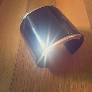 Vince Camuto Rose Gold/Black Acetate cuff