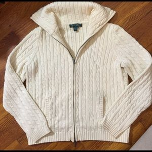 Ralph Lauren Cardigan Sweater Size Medium