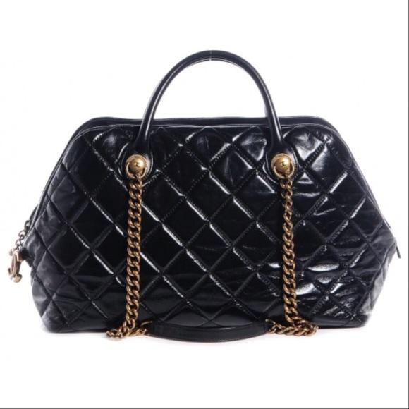 264eabeaa96f CHANEL Bags | Calfskin Castle Rock Bowling Bag | Poshmark