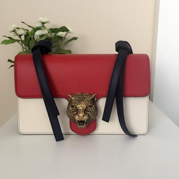 765875efb2673f Gucci Bags | New Design Animalier Leather Shoulder Bag | Poshmark