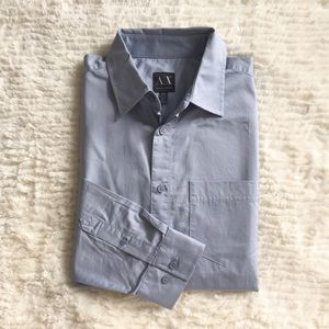 [Armani Exchange] Fitted Casual Buttondown