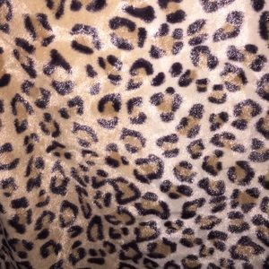 Jackets & Coats - Faux fur cheetah vest