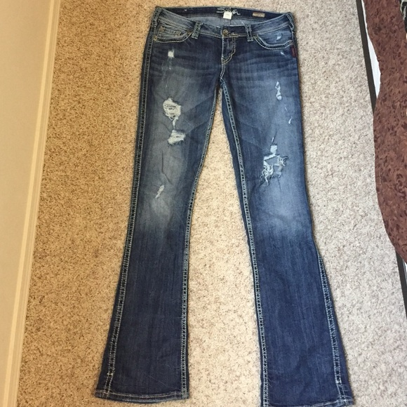 68% off Silver Jeans Denim - Silver jeans. Frances 18&quot bootcut