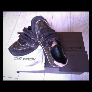 Louis Vuitton Other - 100%Authentic Louis Vuitton kids sneaker monogram