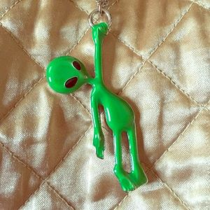 Dollskill  Alien Babe Grunge Necklace