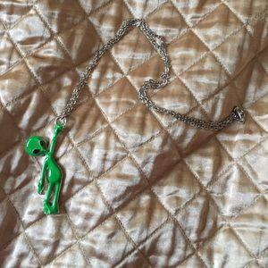 Dollskill Accessories - Dollskill 🖖🏾 Alien Babe Grunge Necklace