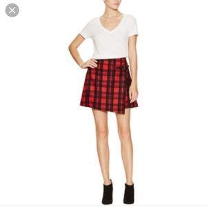 Kate Spade Saturday Plaid Kilt Skirt