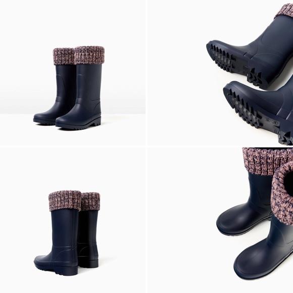 Zara Shoes | Zara Kids Rain Boots