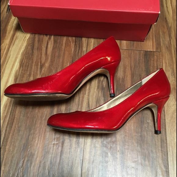 eed412b9d72 ... Vaneli Cranberry Red Patent Pumps 6.5. M 5831ef81713fded77c07d6d8