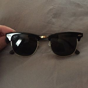 Authentic rayban club masters