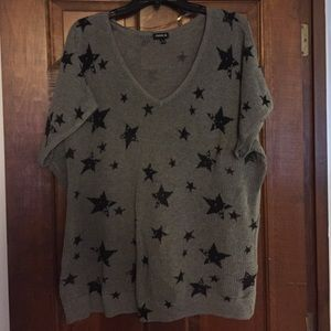 Torrid sweater with stars