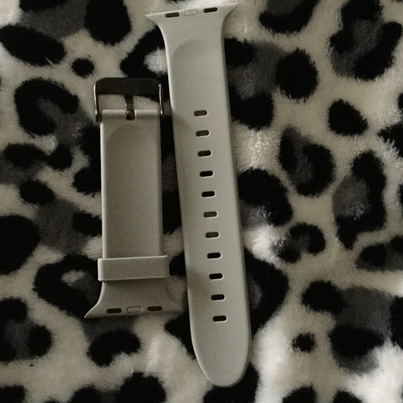 Accessories - Apple Watch 42MM silicon mesh clasp band NWOT from