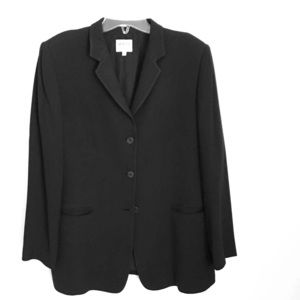Armani Collezioni Black 3 Button Jacket