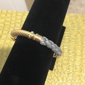 """Jessica Elliot Jewelry - Genuine Leather Braided """"Trenza""""Bracelet✨Reduced ✨"""