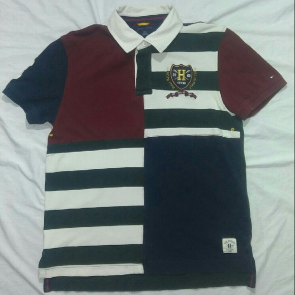 fea39f1a1 Tommy Hilfiger Shirts | Mens Vintage Colorblock Polo | Poshmark
