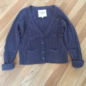 Abercrombie & Fitch Other - Brown Abercrombie and Fitch button up sweater
