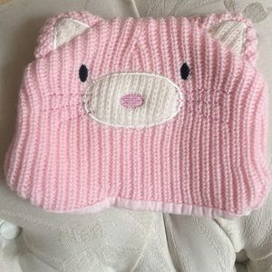 Vitamins Baby Other - Infant, knit, cat, hat. Garter stitch knitted hat.