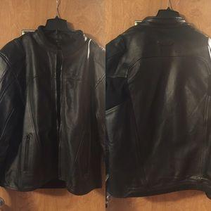 BILT Other - Men's Leather Motorcycle Jacket by BILT