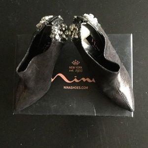 Elements by Nina Shoes - Nina embellished bootie.