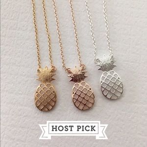 Pineapple Delicate Necklace
