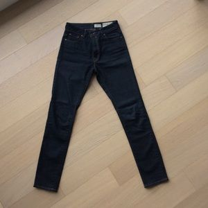 All Saints Reyna High Rise Skinny Fit Jeans