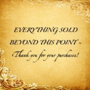 Thank you for your purchases!