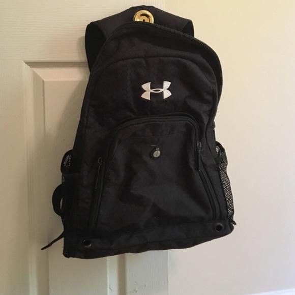 66fcb3d090 Handbags - Underarmour backpack- worn