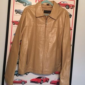 Other - HIS LEATHER JACKET- MEN'S