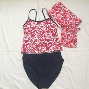 Ativa Other - Tankini set - includes sarong with carrying pouch