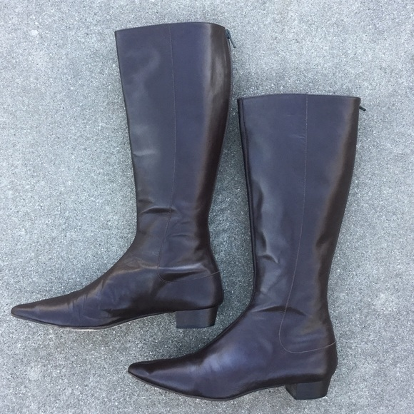 J. Crew - Vintage J. Crew Chocolate Riding Boots from T's closet ...