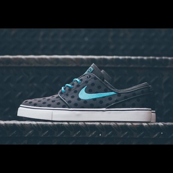 Nike Shoes Sb Stefan Janoski Polka Dot Grey Sneaker Poshmark