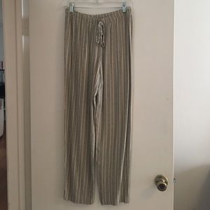 Striped vintage trousers