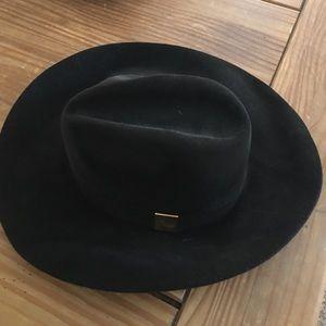 Gucci Brown Rabbit Fur Hat NEW