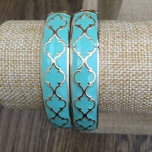 Lattice pattern hinge bracelet