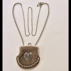 HOST PICK  Upcycled Unique Coin Purse Necklace
