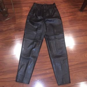 SIENA leather pants super soft leather