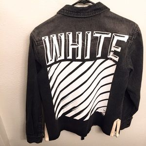 Off-White Other - Off-White Denim Jacket